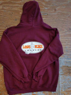 LBSS LOGGERS PULLOVER MAROON