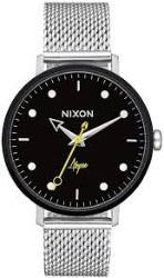 Nixon Arrow Milanese Watch Silver