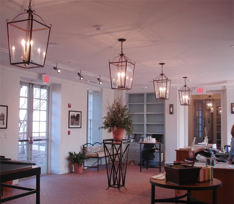 Williamsburg Spa Custom Lanterns and Sconces