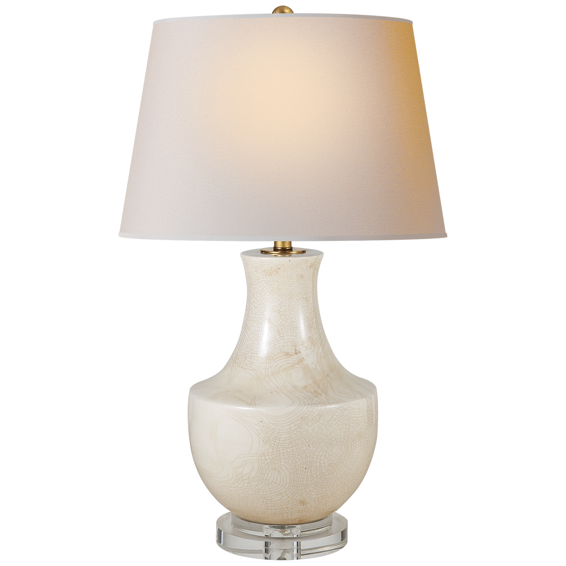 Arc Pot Form Table Lamp