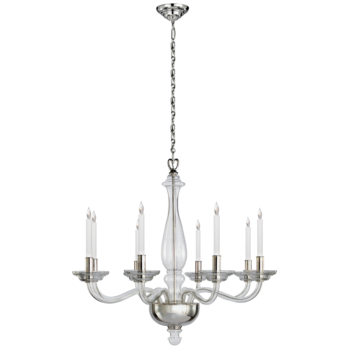 King george grande balustrade chandelier the lamplighter shoppe king george grande balustrade chandelier arubaitofo Images