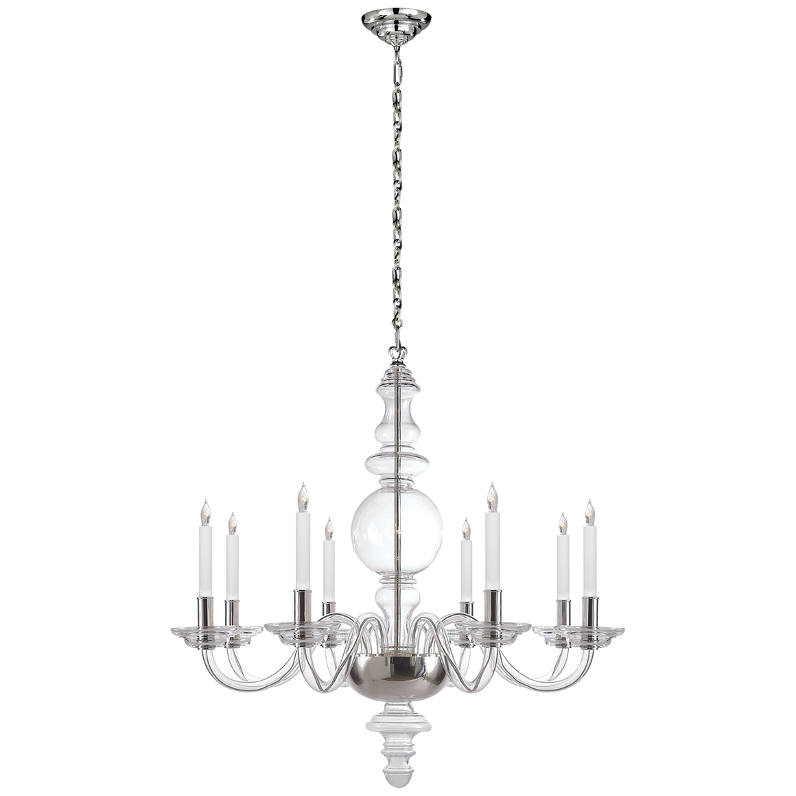 King George Grande Round Chandelier