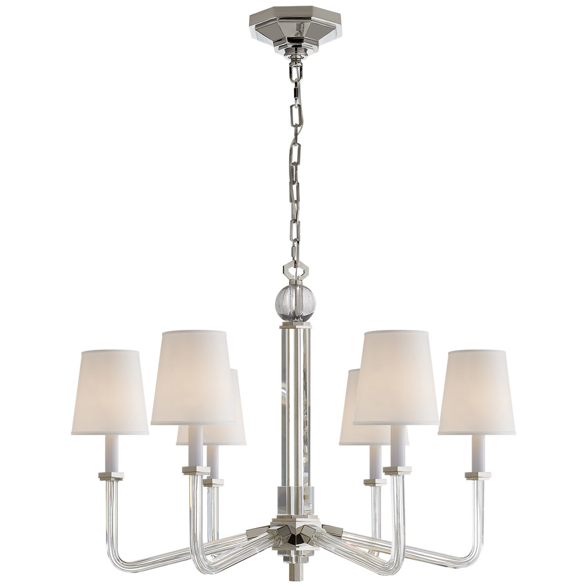Bennett Six Arm Chandelier