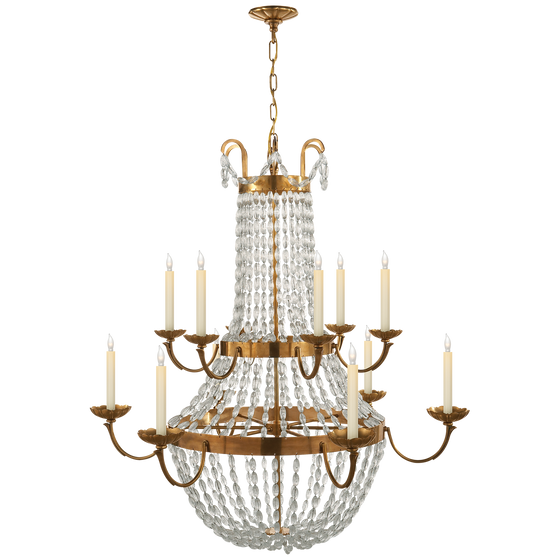 Paris Flea Market Grande Chandelier