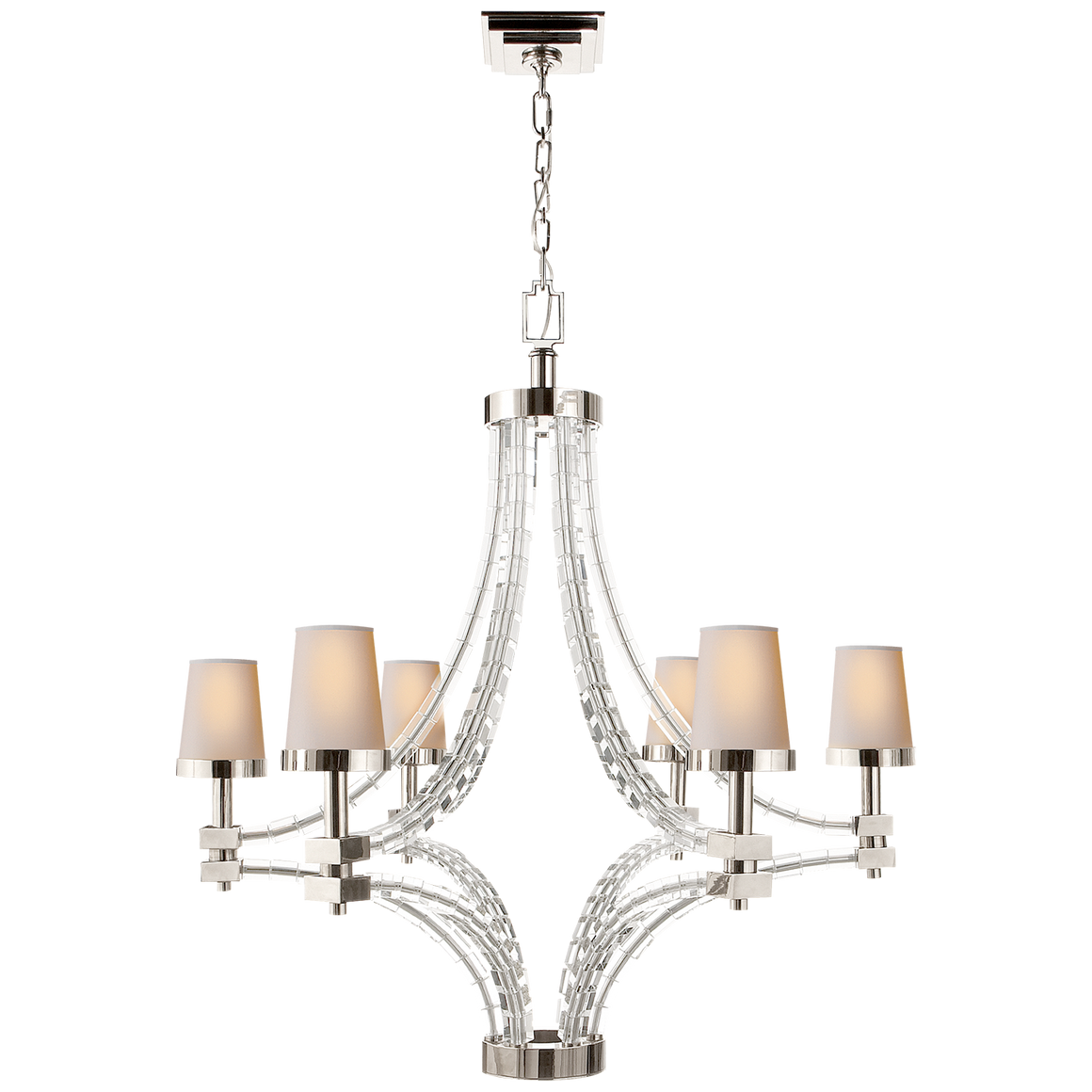 Crystal Cube Large Chandelier
