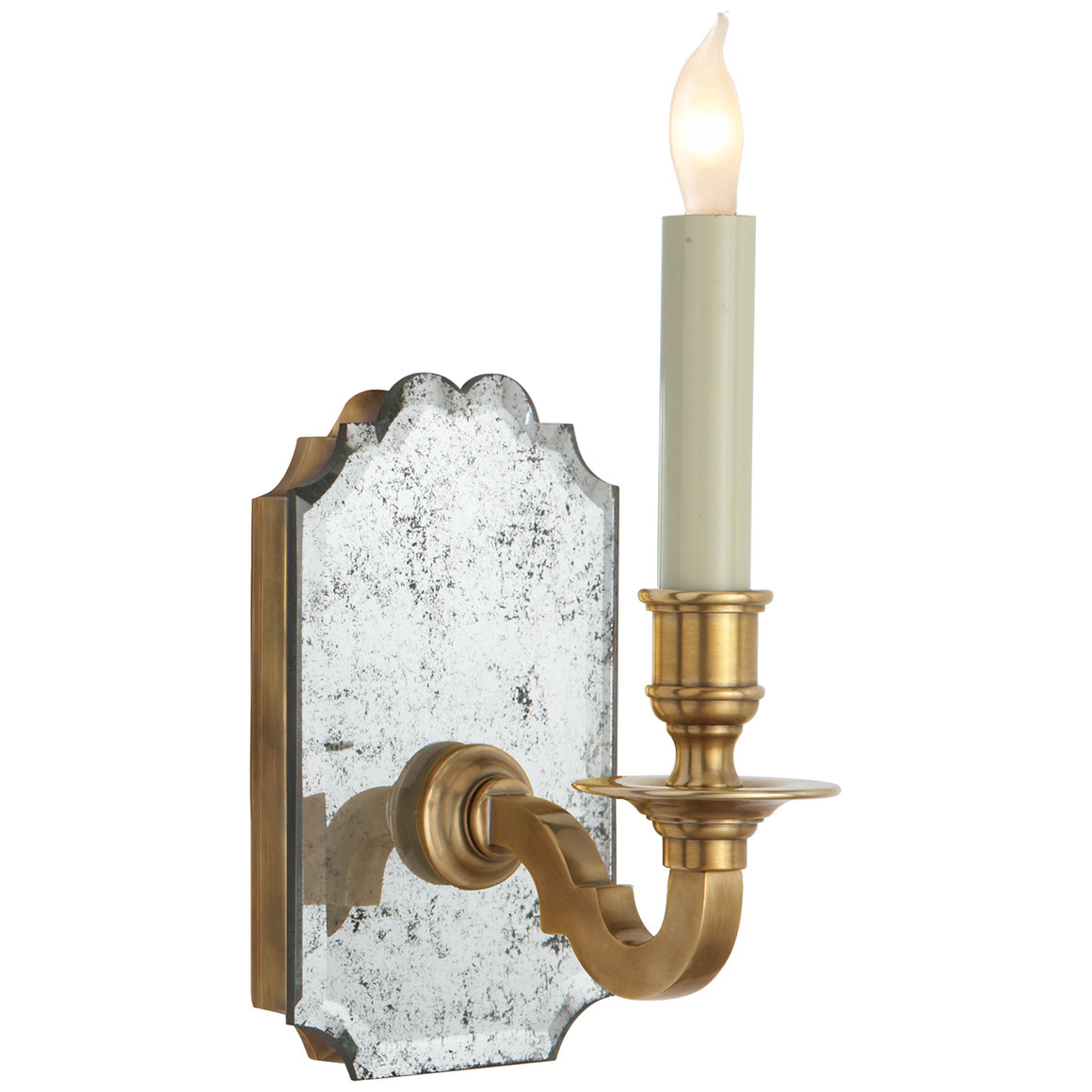 Kensington Beveled Single Sconce