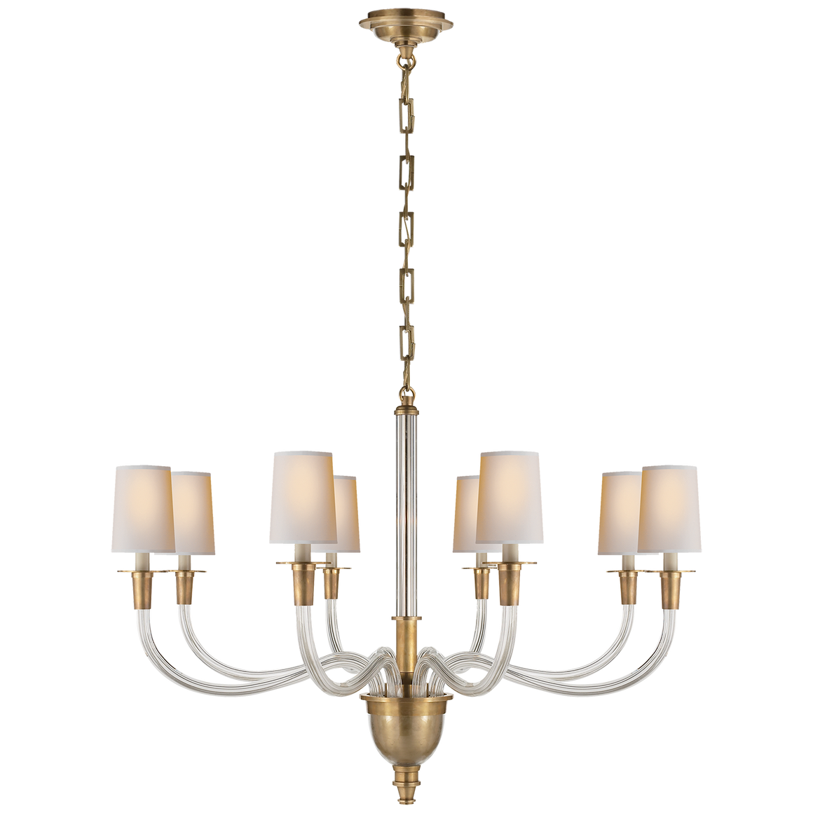 Vivian Large One-Tier Chandelier