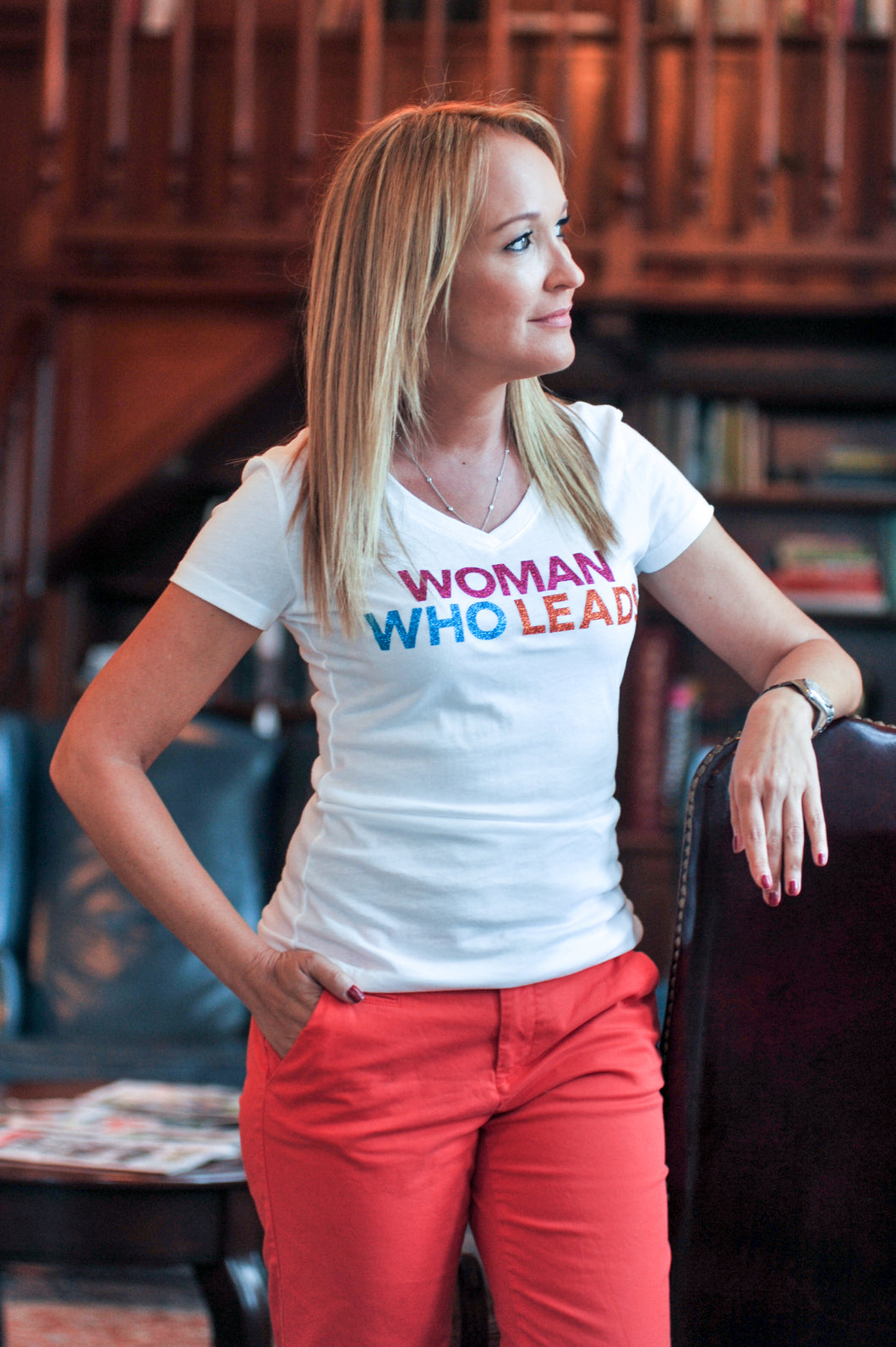 Woman Who Leads shirt