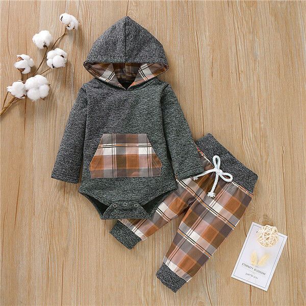 MARVIN Checkered Hoody Outfit
