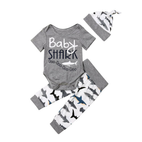 'Baby Shark' Outfit with Beanie