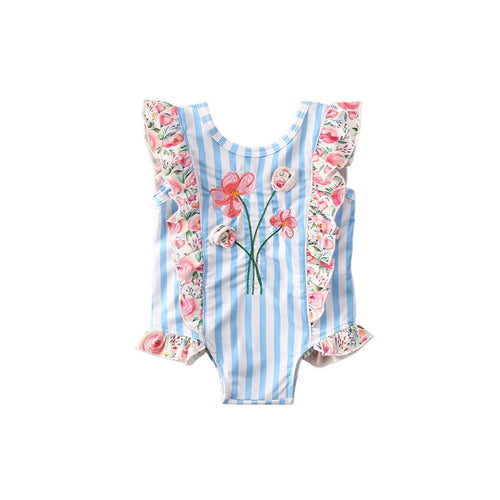 FLORA Ruffle Swimsuit