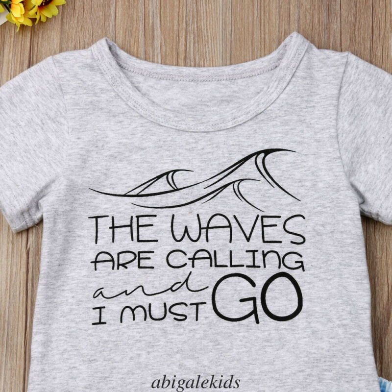 'The Waves Are Calling' Summer Outfit