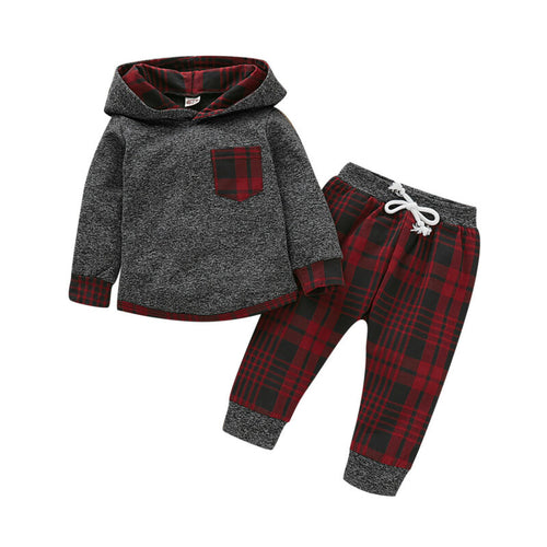 'Bodhi' Checkered Hoody Outfit