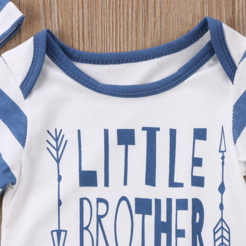 'Little Brother' Jumpsuit with Beanie