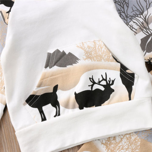'Mountain Deer' Hoody Outfit