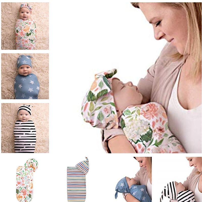 Swaddling Bag with Beanie