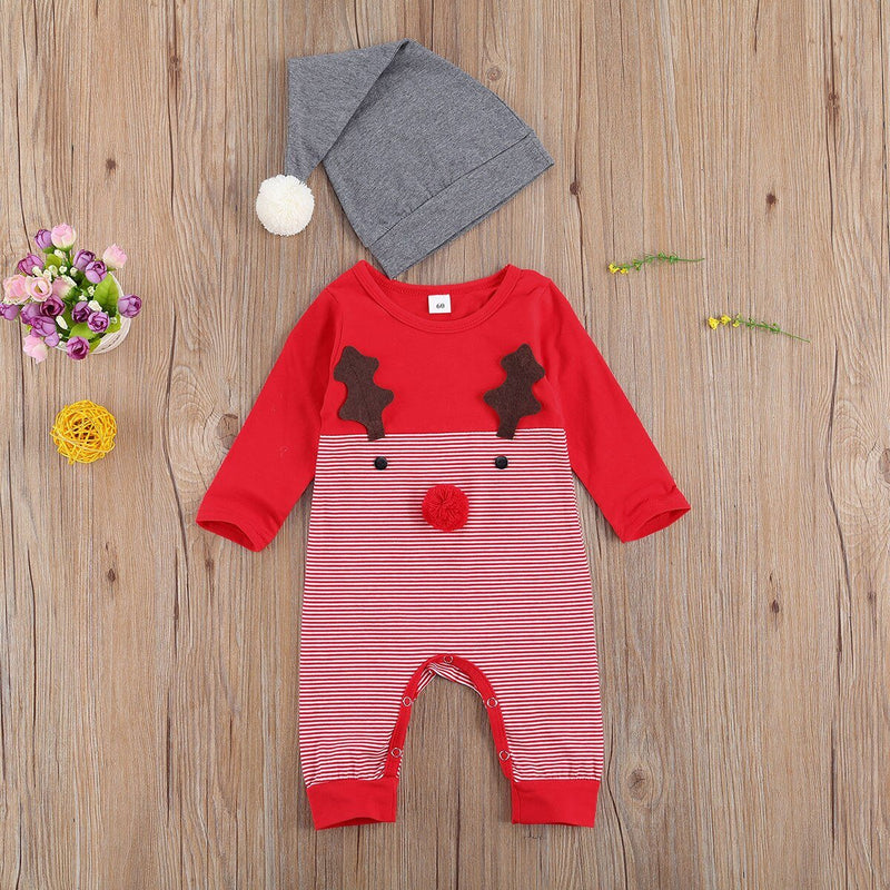 'Rudolph' Jumpsuit with Beanie