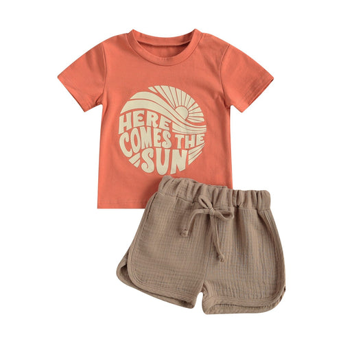 HERE COMES THE SUN Coral Summer Outfit