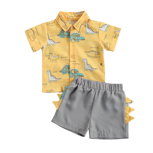 DINOSAUR FRIENDS Summer Outfit