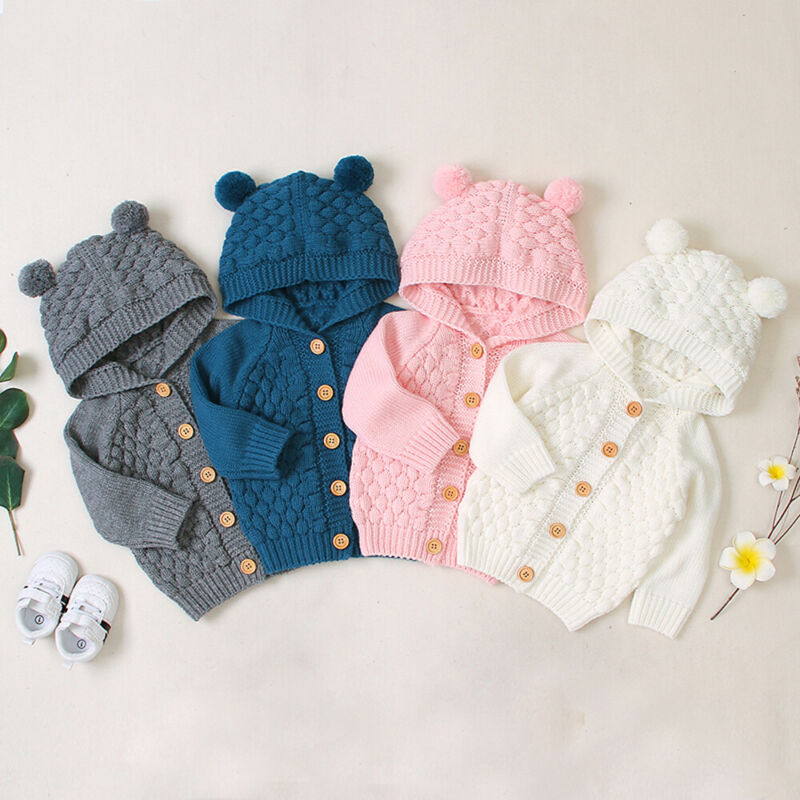 'Bear' Knitted Cardigan