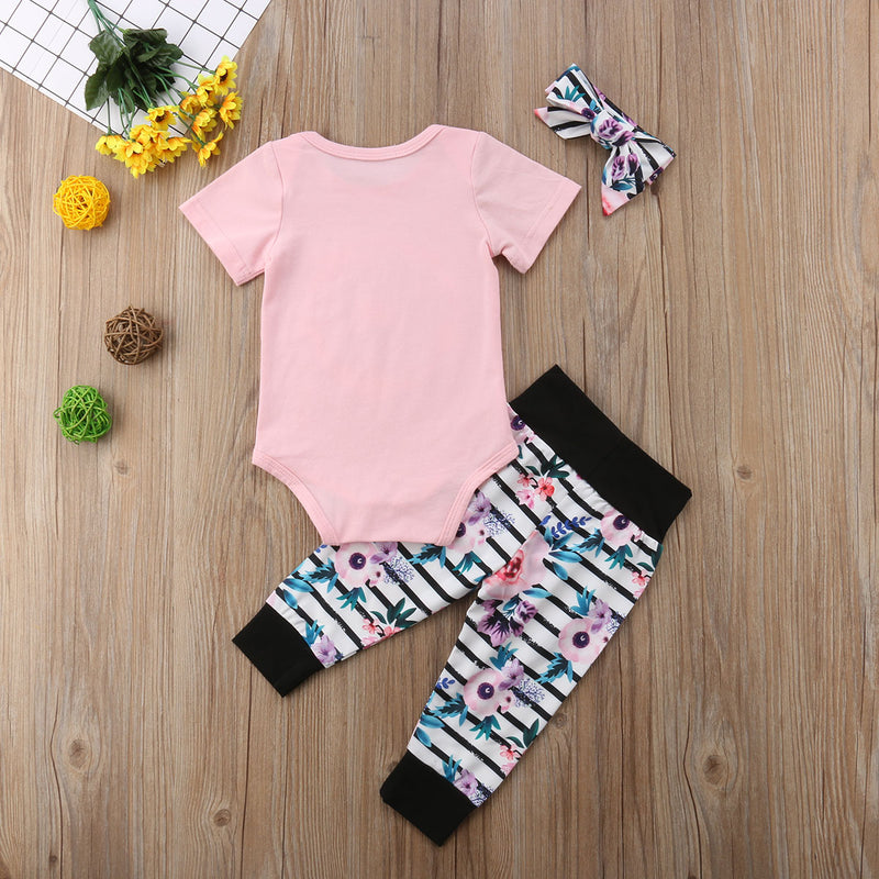 3 Piece 'Baby Sister' Outfit