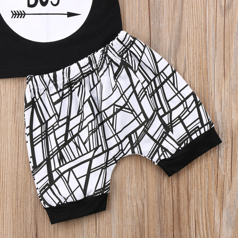 2 piece 'Mama's Boy' Summer Outfit