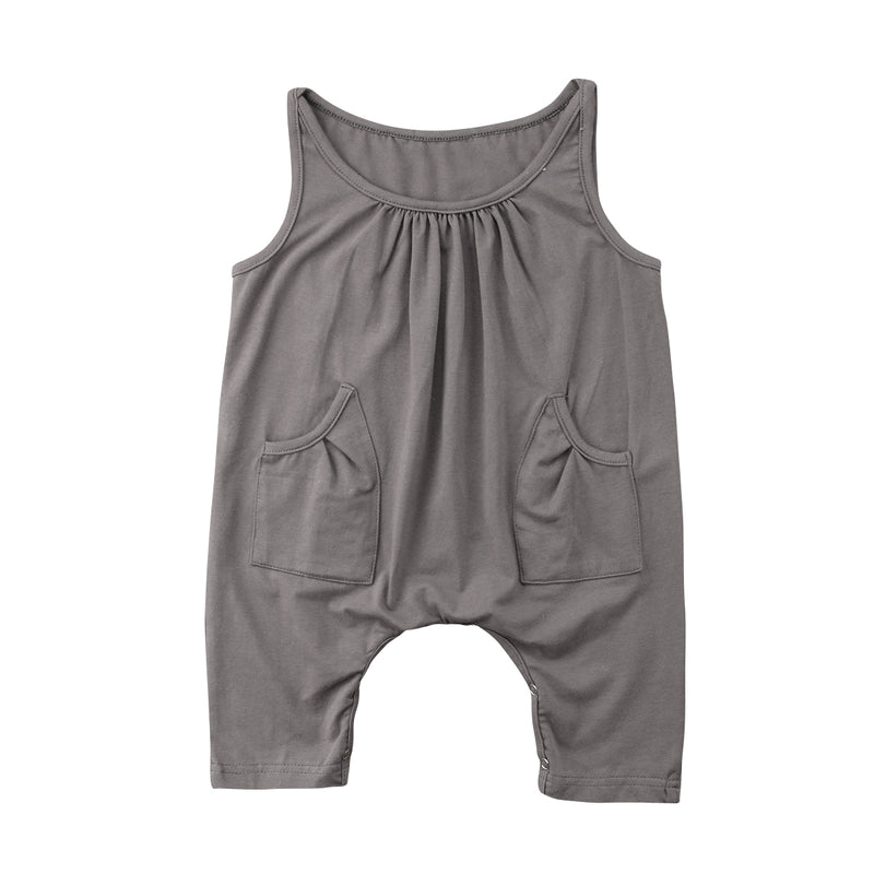'Simplicity' Girls Summer Jumpsuit