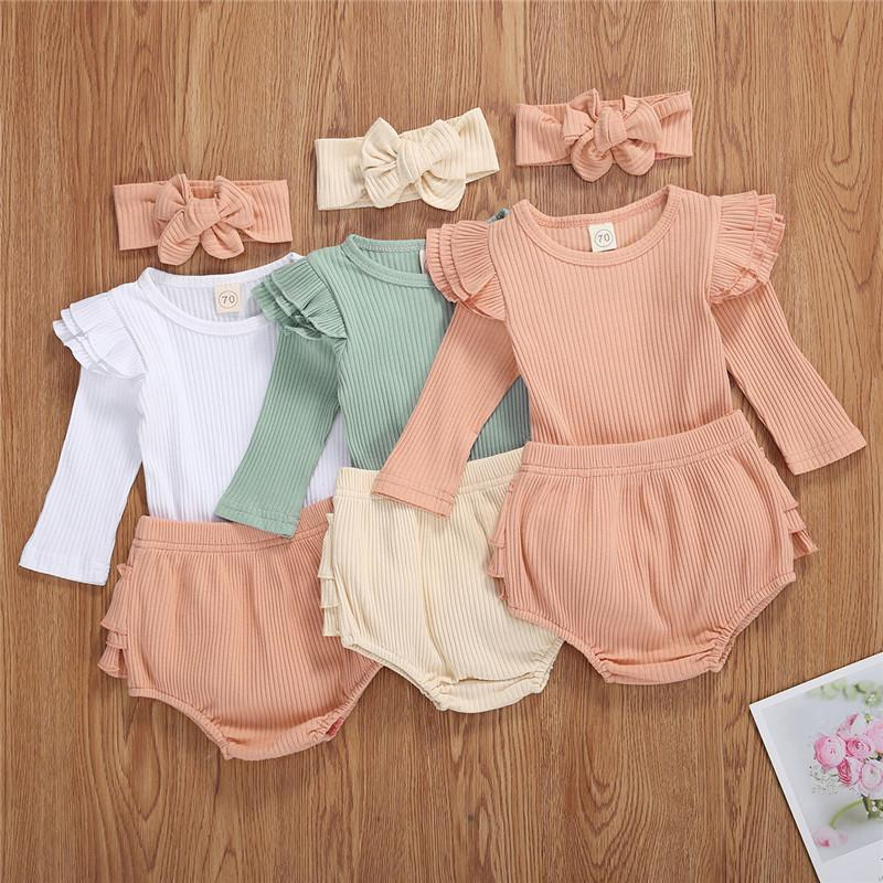 ELLE Ruffle Outfit with Headband