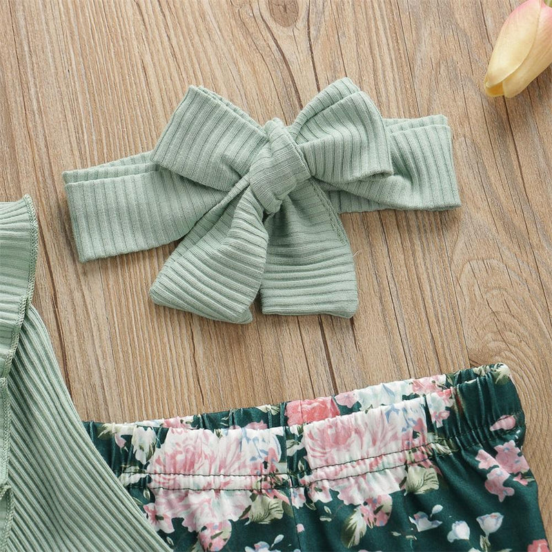 SOPHIE Floral Outfit with Headband