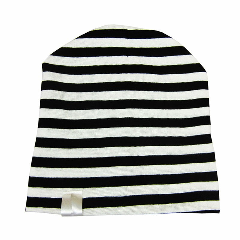 Casual Striped Baby Beanie