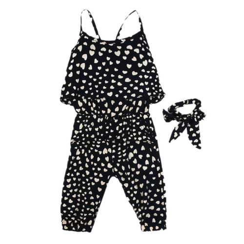 Hearts Girls Jumpsuit