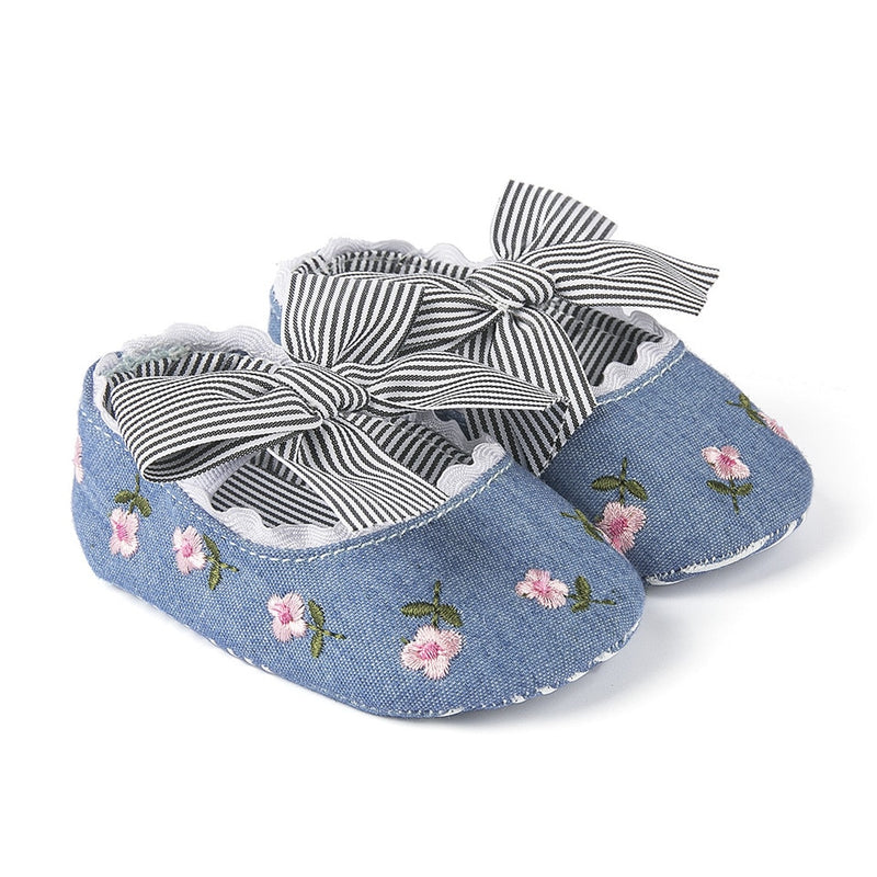 'Bella' Bowtie Slippers