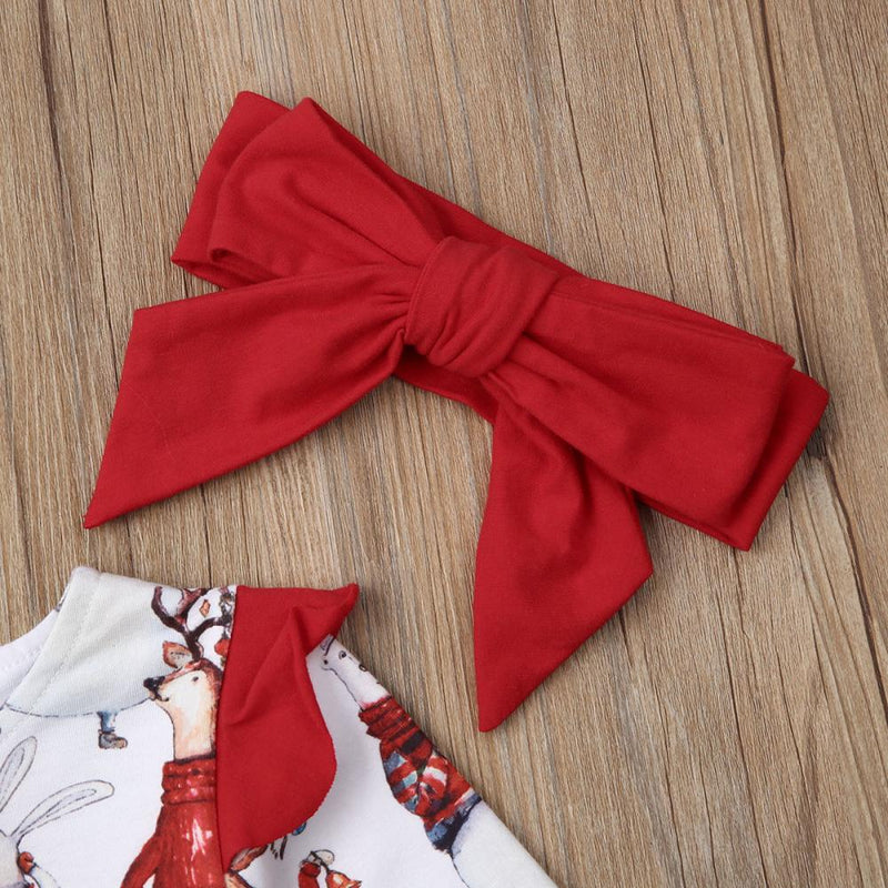 'Christmas Party' Dress with Headband