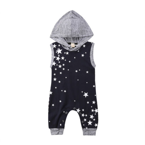 a629521a81427 'Star' Hooded Jumpsuit