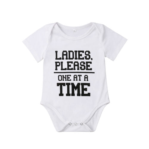 'One at a Time' Onesie