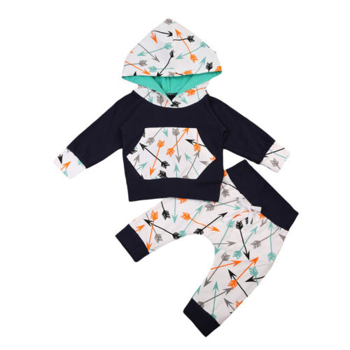 2 piece 'Arrows' Hoody Outfit