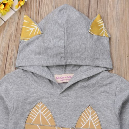 'Golden Fox' Hoody Outfit