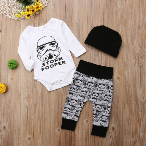 'Storm Pooper' Outfit with Beanie