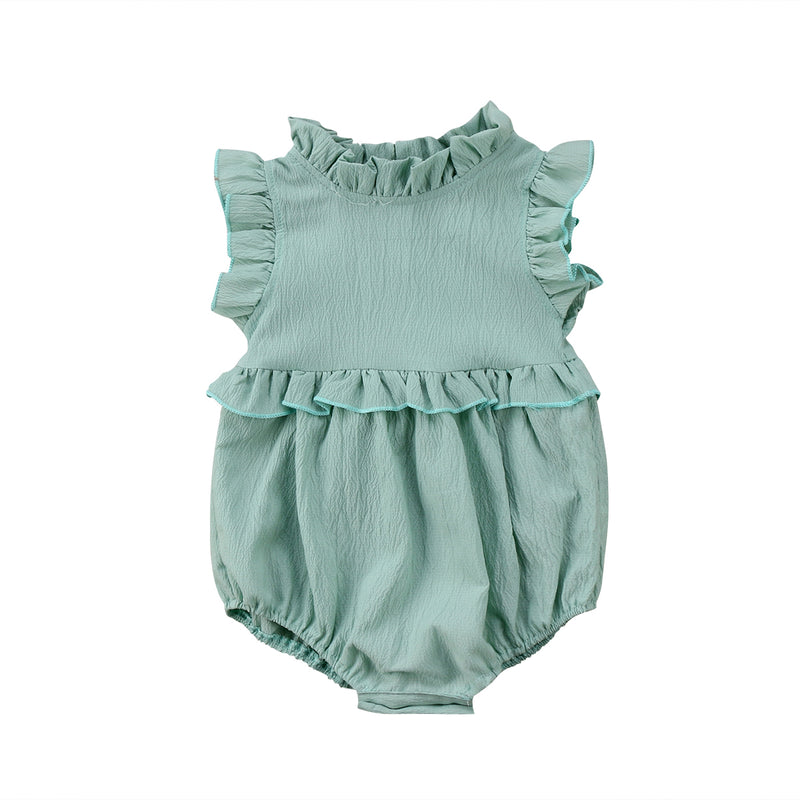 Ruffled Summer Romper