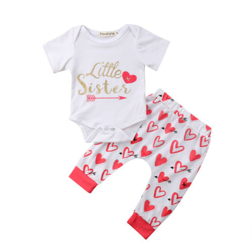 'Little Sister' Heart Outfit