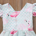'Flamingo' Summer Romper