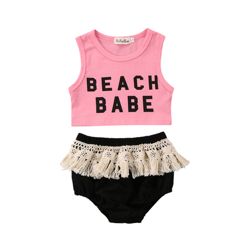 'Beach Babe' Summer Outfit