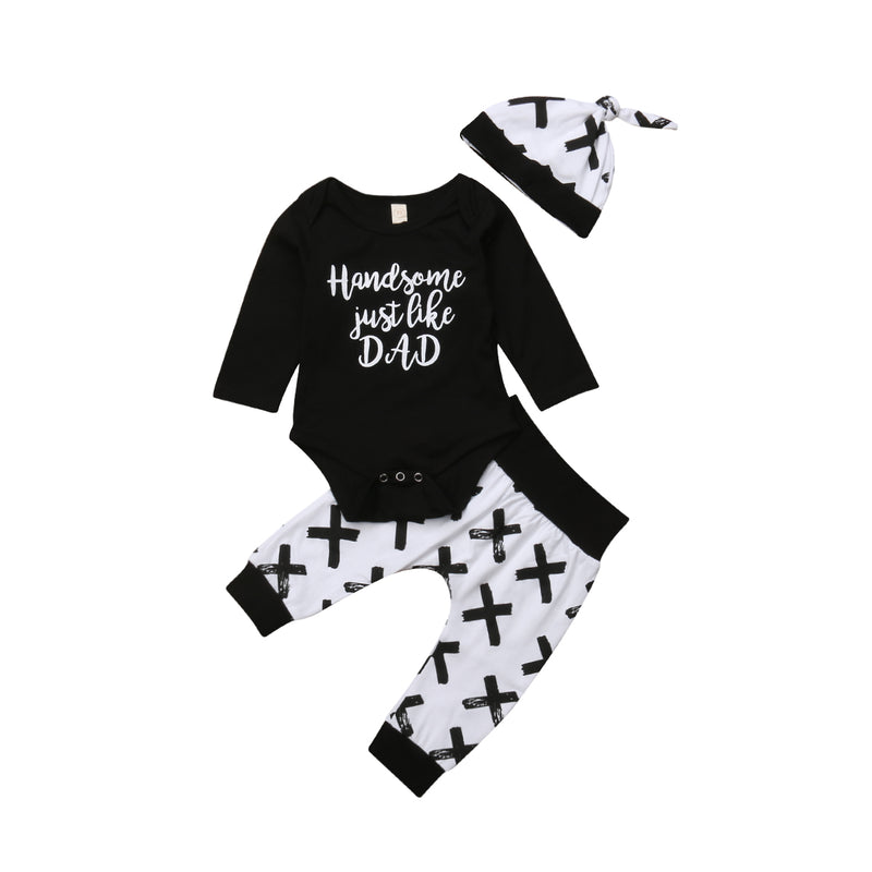 'Handsome Just Like Dad' Outfit