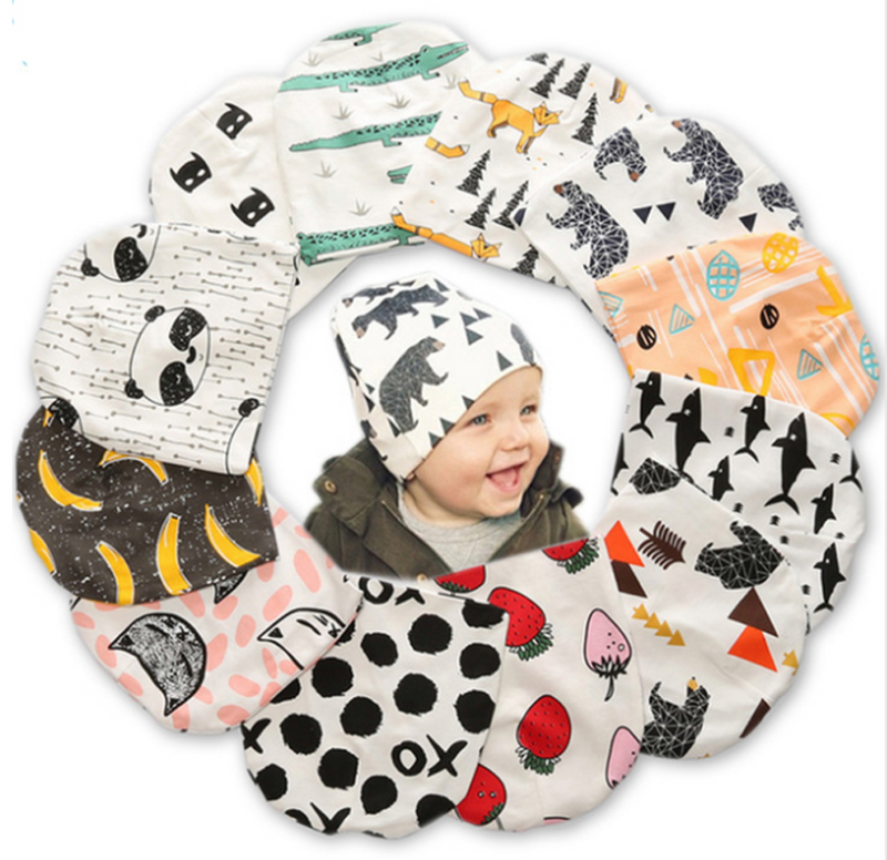 Kids Warm Cotton Beanie