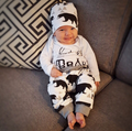 3 Piece 'Baby Bear' Outfit - Long Sleeve