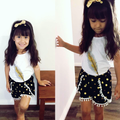 3 Piece 'Feather' Girls Outfit