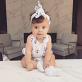 Marine Romper with Headband