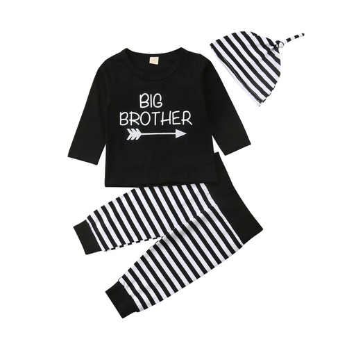'Big Brother' Striped Outfit
