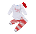 'Merry Christmas' Outfit with Headband