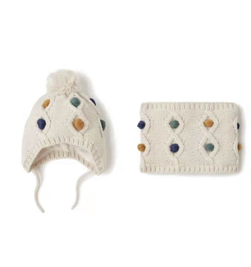 'Nordic' Beanie and Scarf Set